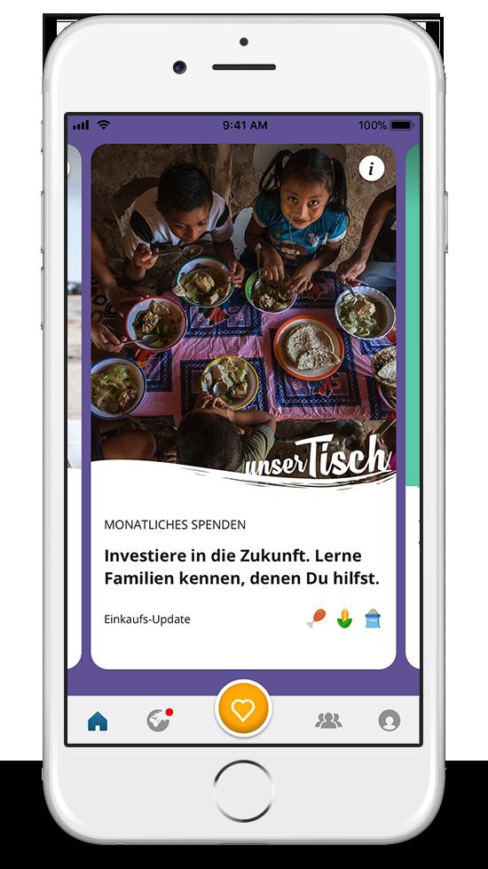 ShareTheMeal: Essen teilen via App