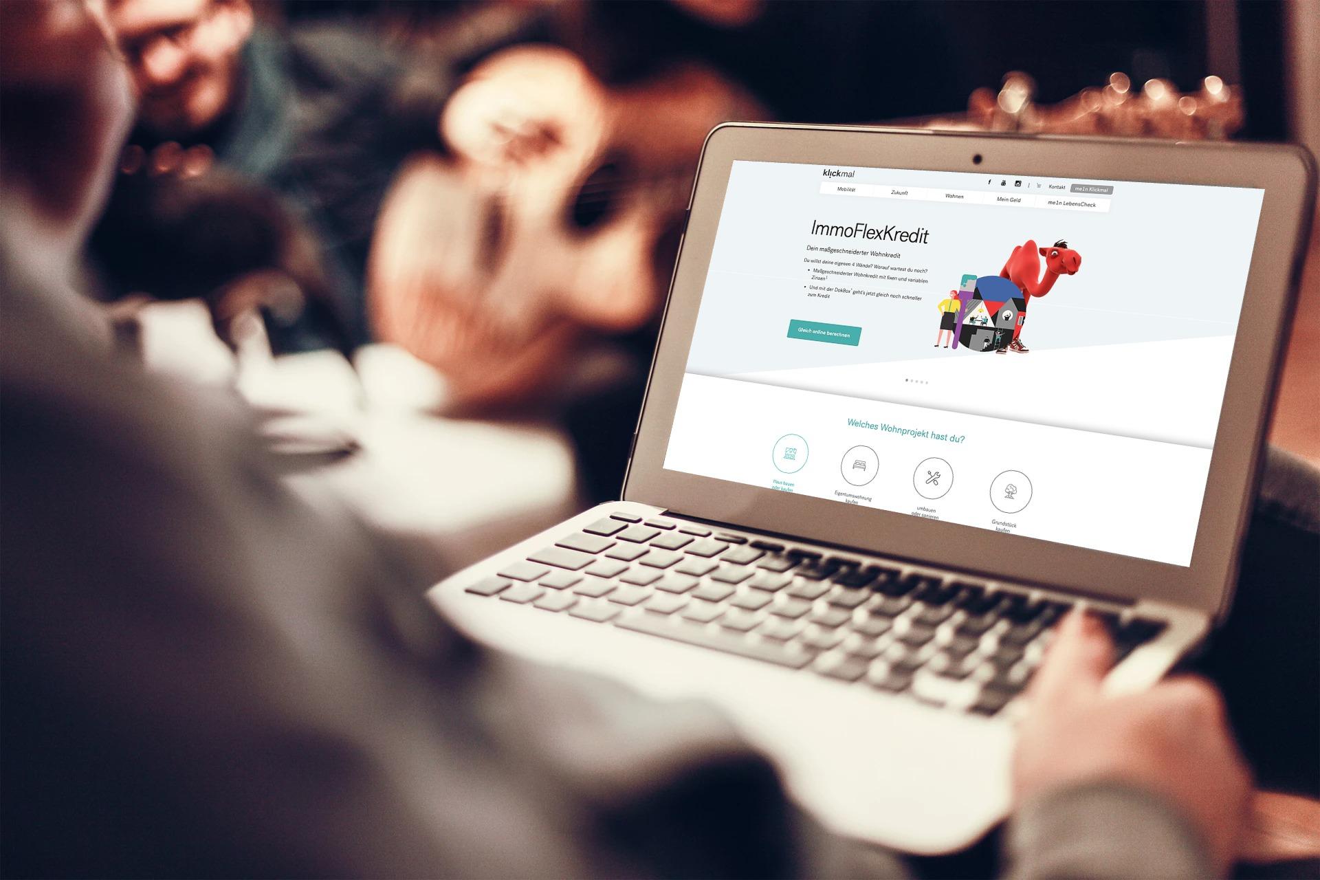 Online berechnen: Auf klickmal.at kannst du Finanzierungsmodelle durchspielen.