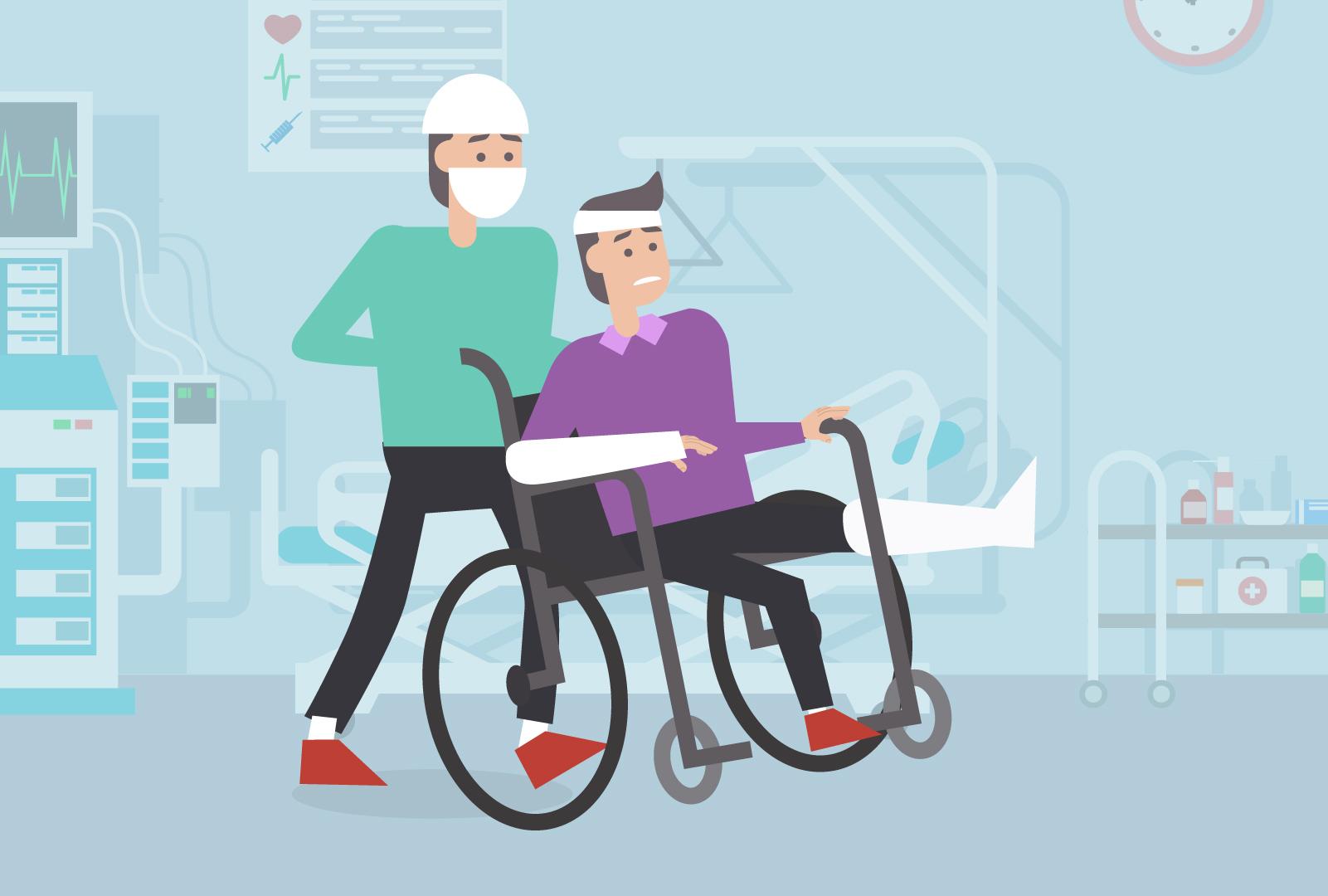 Entlassung aus dem Spital heißt nicht Rückkehr zur Normalität.