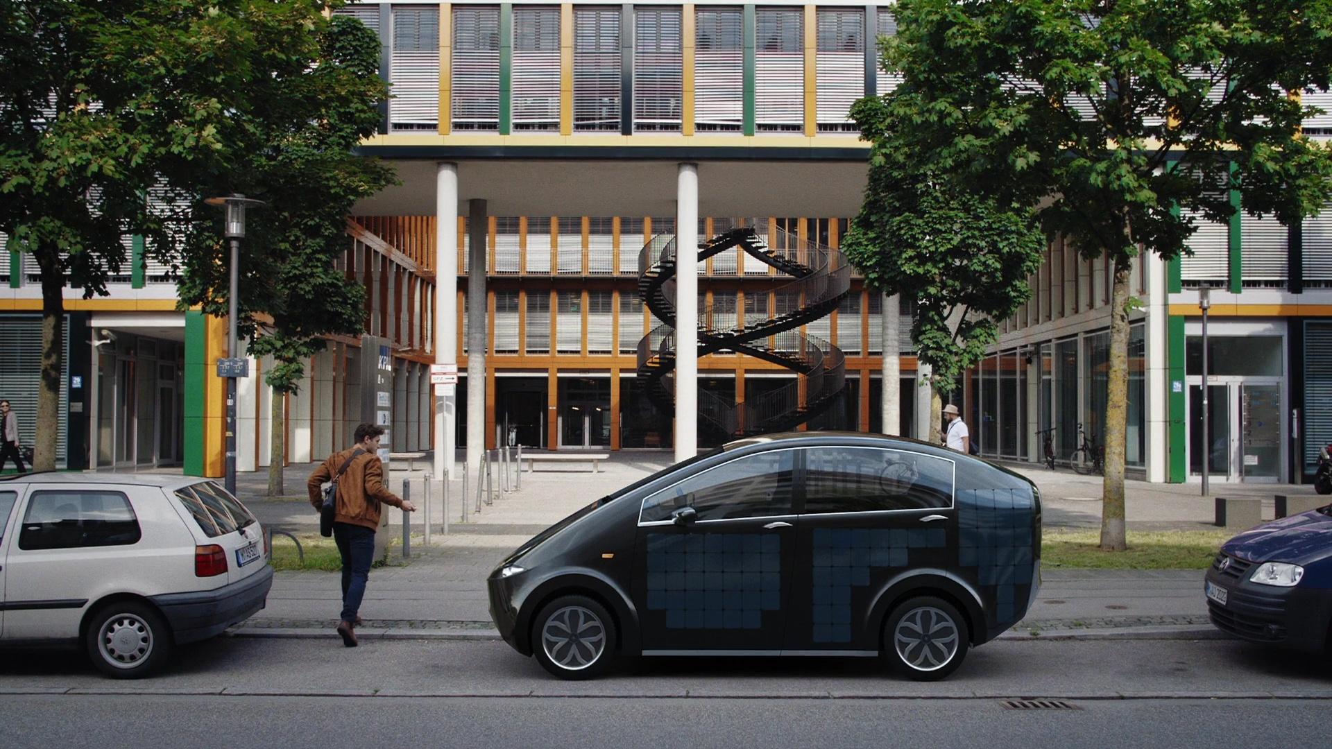 Solarzellen, lebendes Moos und lizenzfreie Ersatzteile: Der Sion könnte die Zukunft der Elektromobilität sein.