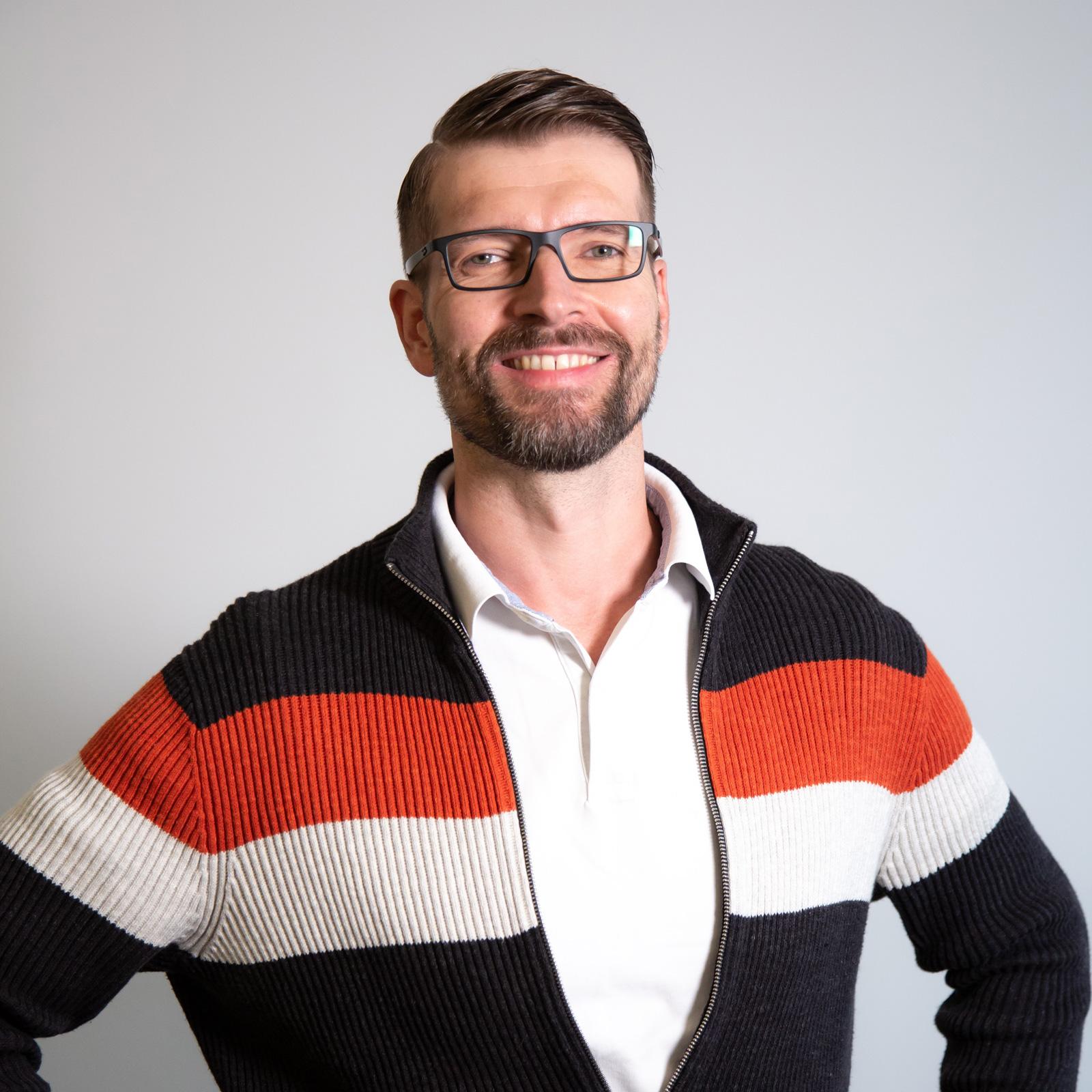 Ernährungstherapeut und -berater Sven Bach