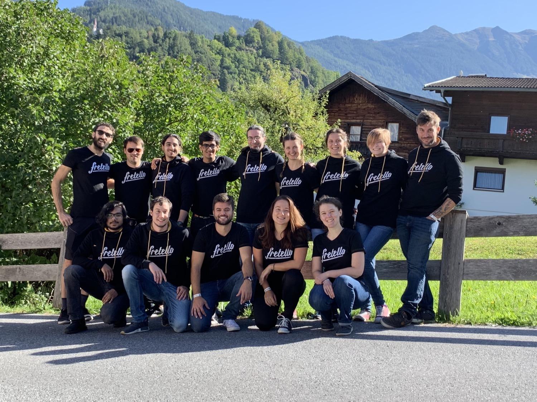 Internationales Team: Zweimal im Jahr treffen sich die Mitarbeiter von Fretello, die sonst auf den Kontinenten verteilt leben.