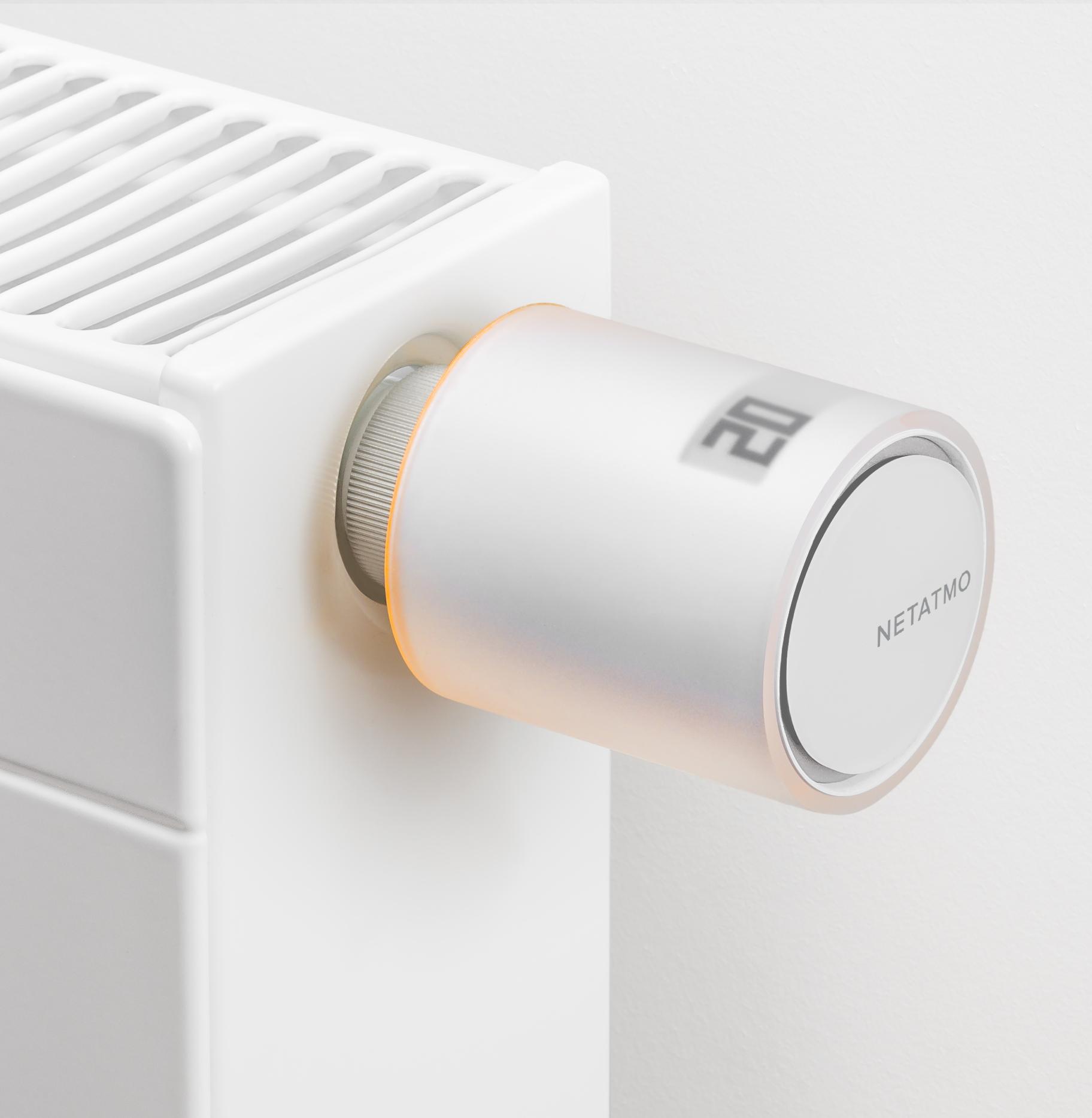 Die smarten Heizkörperthermostate sind dank beiliegenden Adaptern mit fast jedem Heizkkörper kompatibel.