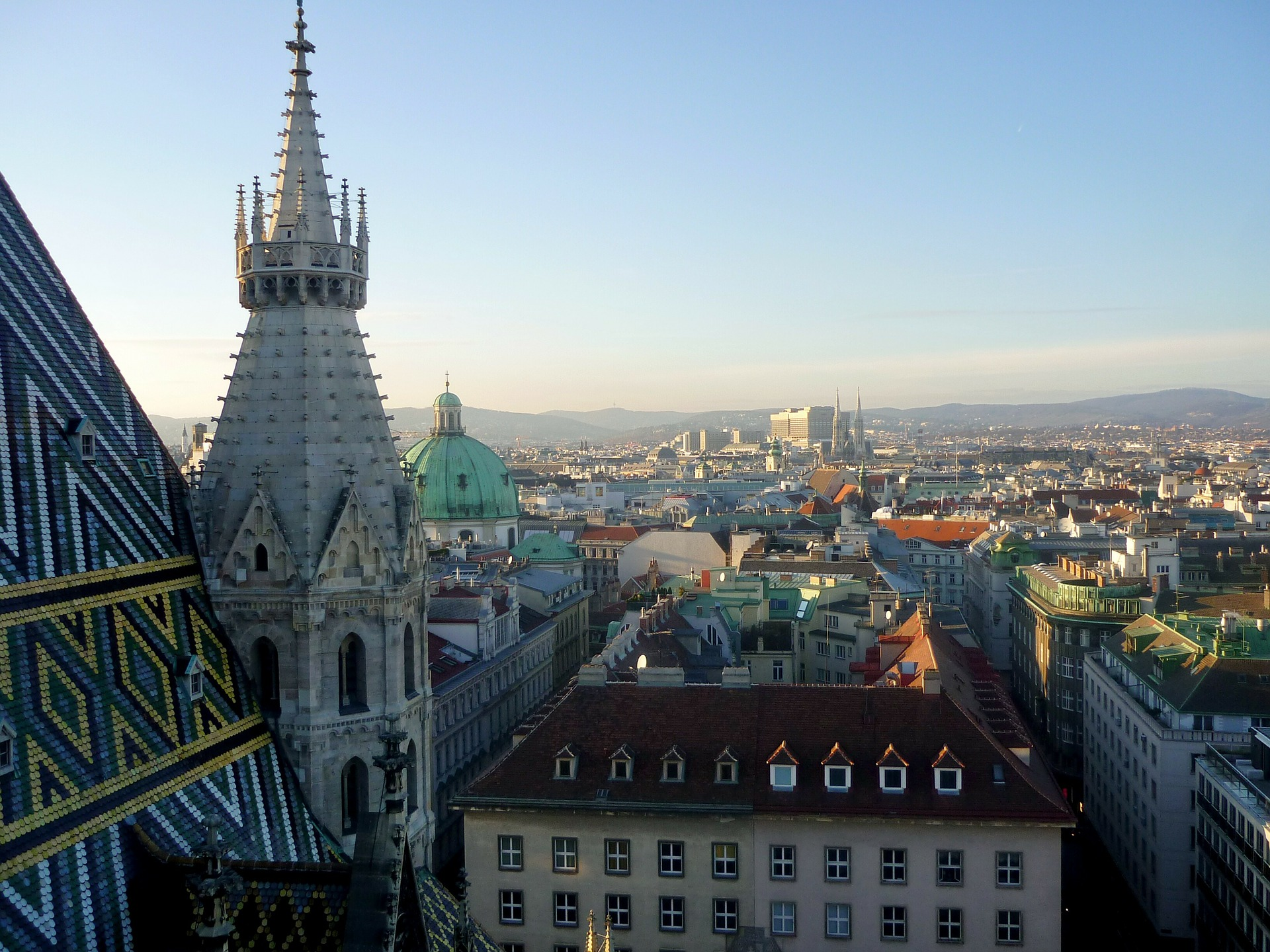 Tolle Aussicht vom Nordturm