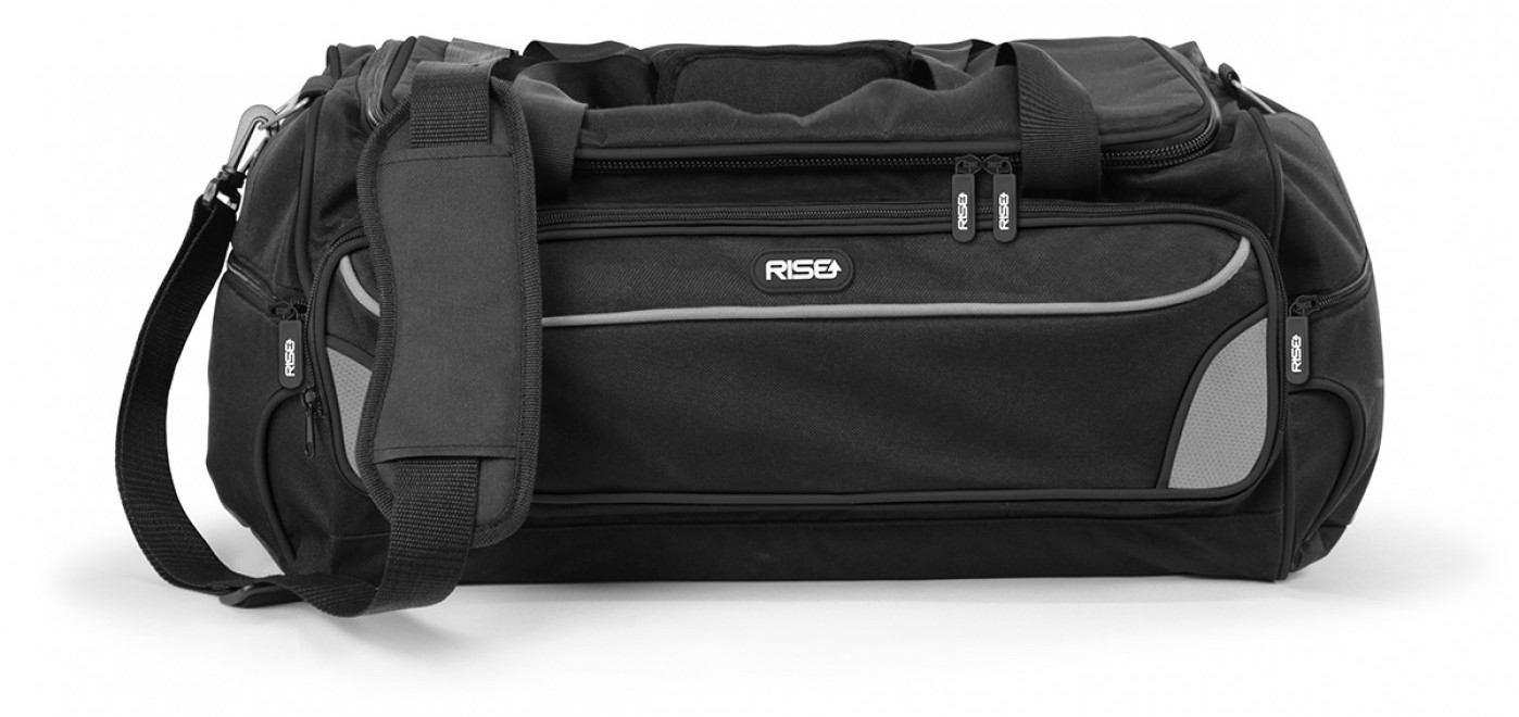 Aufgrund ihrer kompakten Form ist die Tasche perfekt für Wochenend- oder Business-Trips geeignet.