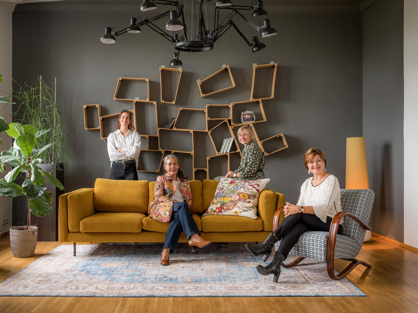 Das Wohnfee-Team im Wiener Schauraum