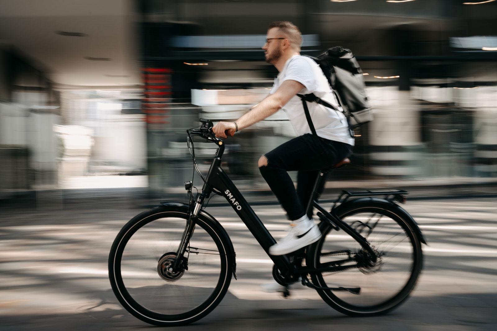E-Bikes werden immer beliebter