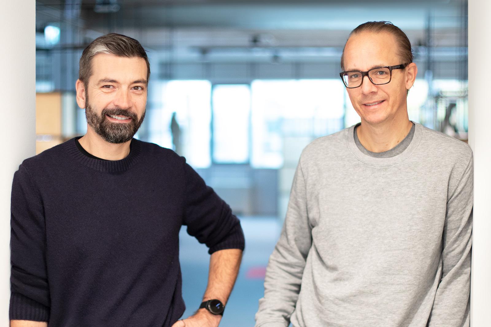 Woom-Gründer Christian Bezdeka und Marcus Ihlenfeld