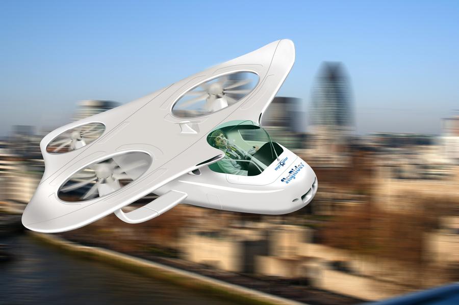 Fliegende Autos: Fünf Visionen für die Mobilität der Zukunft ...
