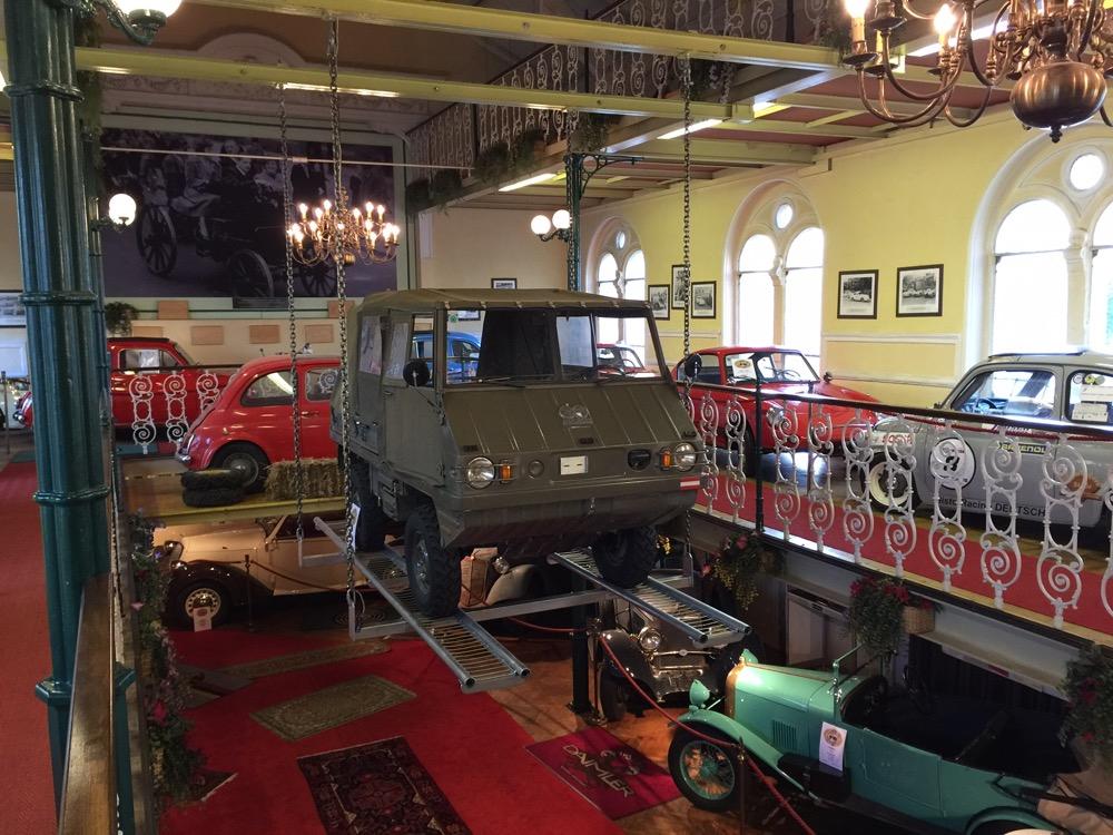 Viele Gäste kennen haben die Fahrzeuge noch im Einsatz erfahren