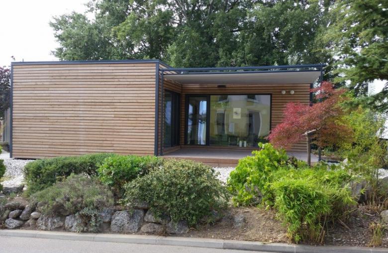Modulhäuser sind preisgünstig und lassen sich in kurzer Bauzeit errichten.