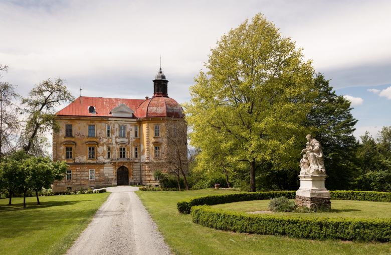 Auch im Schloss kann man eine Ferienwohnung mieten