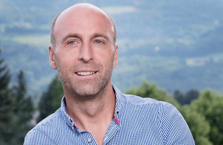 Alexander Schwaighofer engagiert sich im Wüstenrot Sportclub vor allem für die Sektion Laufen und Wintersport