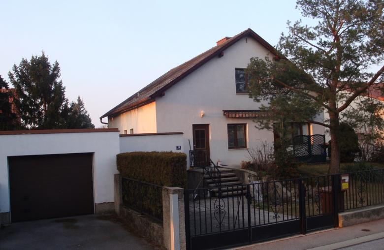 Vorher/Nachher: Das Haus wurde erweitert.