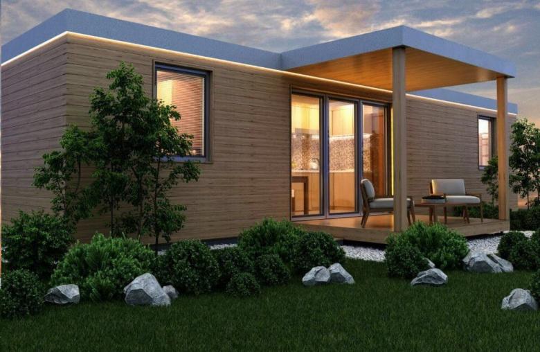 Ab 74.000 Euro kosten die im steirischen Ilz gefertigten Modulhäuser von 7 Wunderhaus.