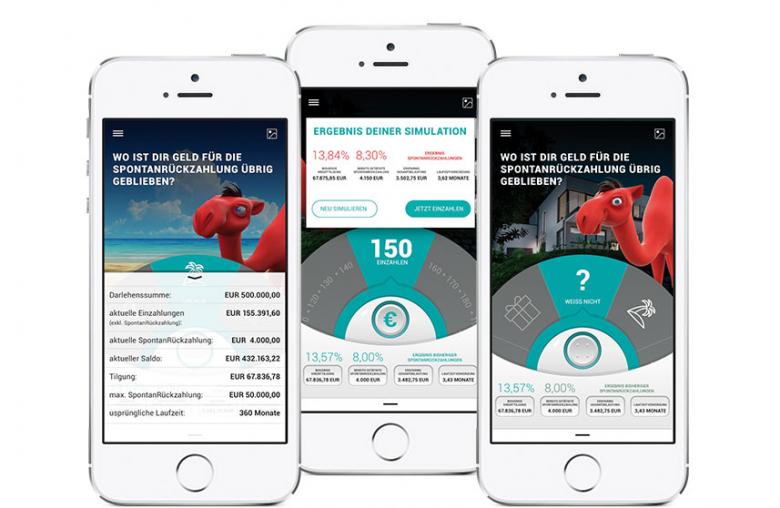 Per App einfach die besten Sparmöglichkeiten ausloten: Die KLICKMAL WOHNEN App.