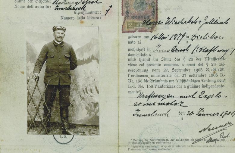 Seit 1891 gibt es in Österreich den Führerschein.