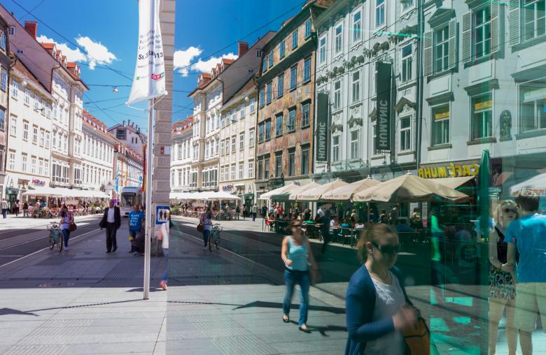 Graz will seinen Besuchern mit smarter Technik bessere Angebote unterbreiten und so eine gute Alternative zum Online-Handel und Einkaufszentren darstellen.