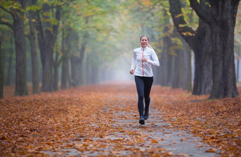 Laufen gegen schlechte Laune: Sportler sind ausgeglichener, wie eine Studie der Universität Oxford ergab.