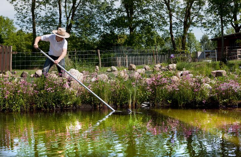 Ein Teich bringt Ruhe in den Garten und ins eigene Leben.