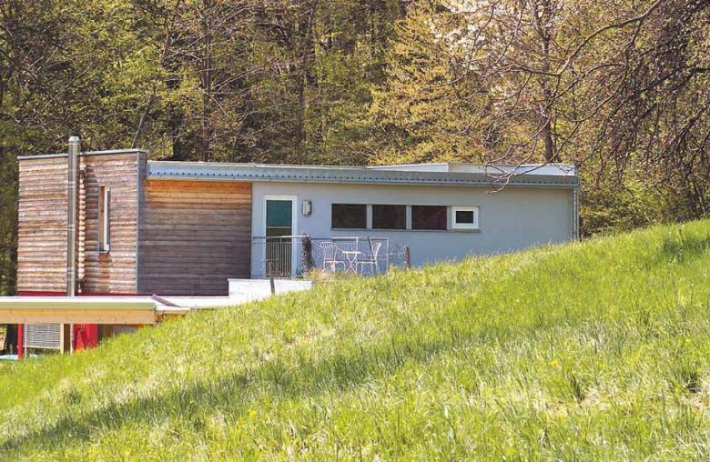 Die Modulhäuser von T u S Modulhaus Produktion sind individuell auf Ort und Bauherrn abgestimmt.
