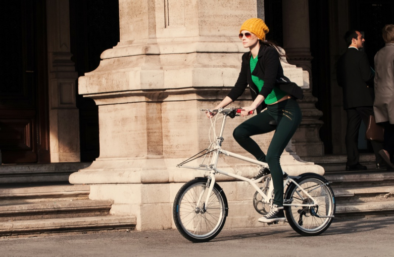 Per Klapprad in die City: Das Vello Bike bietet dabei einige Vorzüge.