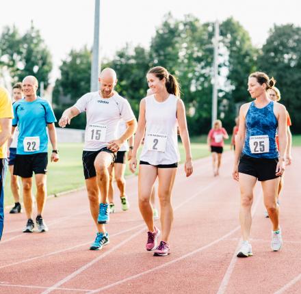 Insgesamt stellten sich 23 Hobbysportler und sechs Profisportler der Herausforderung.
