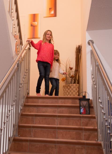 Hauswanderung: Eine Treppe, die verbindet.