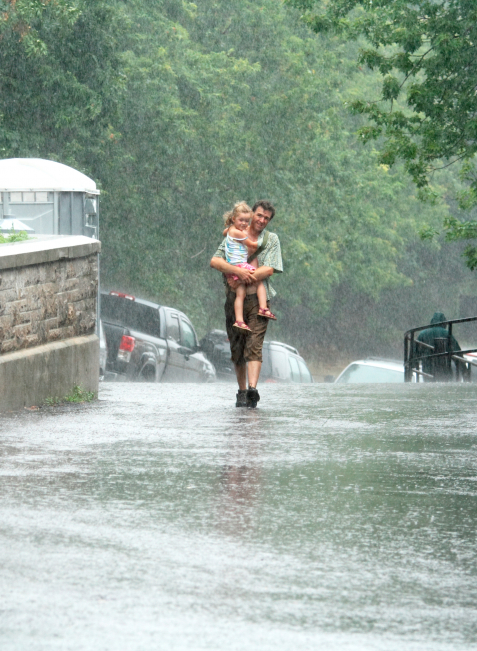 Nicht zu unterschätzen: Mehr als die Hälfte des Jahresniederschlags fällt in den Sommermonaten.