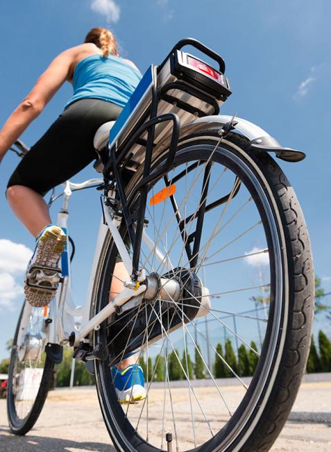 E-Bikes sind anmeldepflichtig, wenn sie mehr als 600 Watt Motorleistung haben.